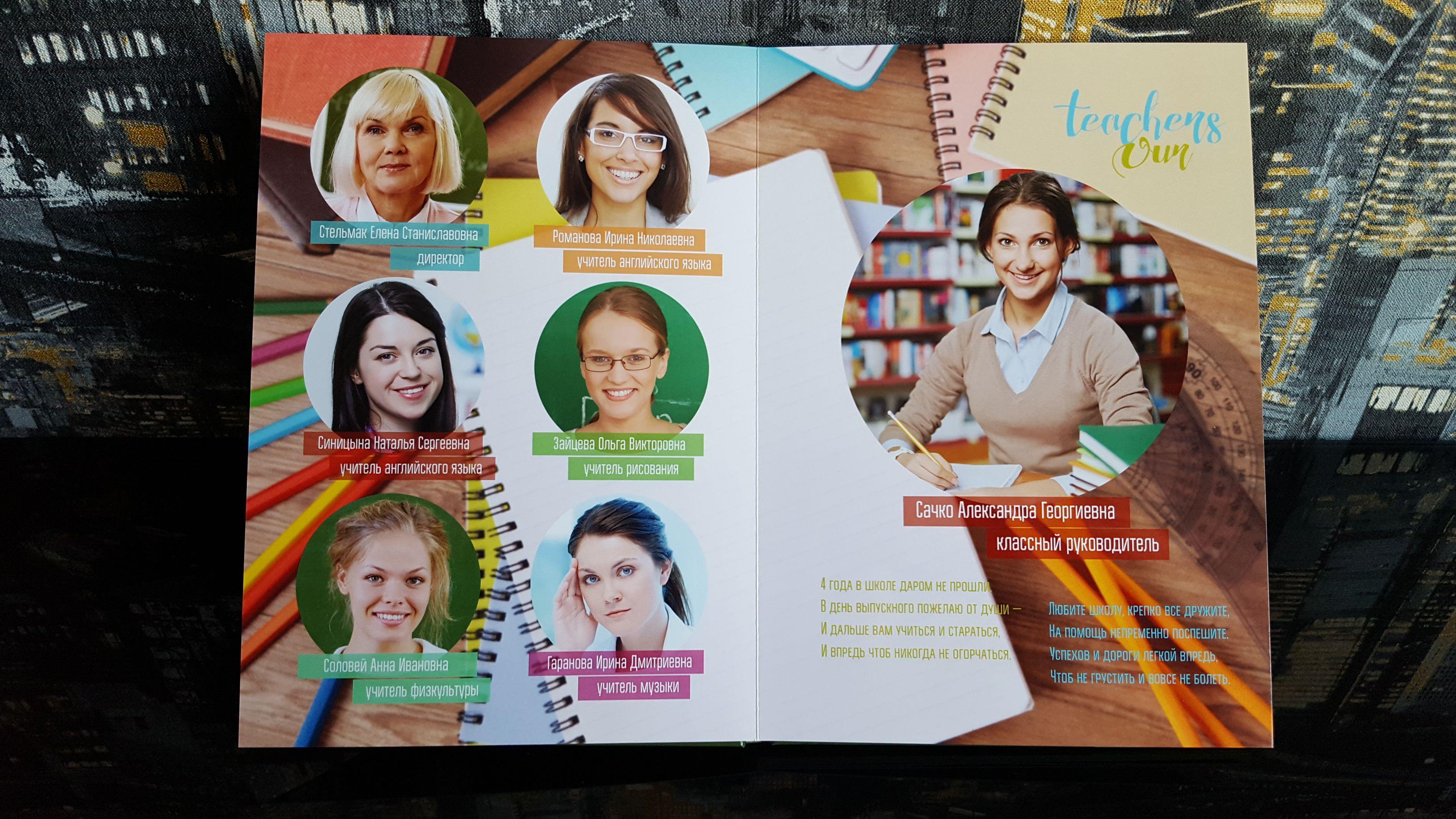 Выпускной фотоальбом для выпускников 4 Класса в Челябинске