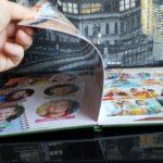 Выпускной фотоальбом в Челябинске в толстой ламинированной обложке и ламинированными листами для студентов ( Вариант № 1 )