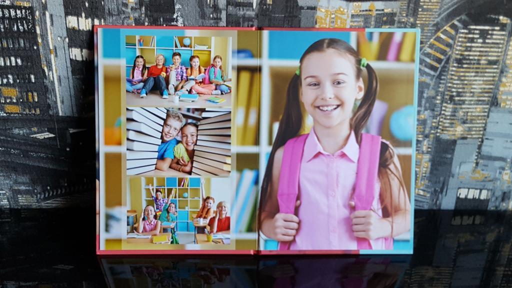 Выпускной фотоальбом Папка планшет с дополнительным разворотом для студентов в Челябинске