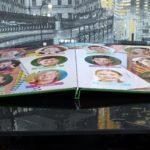 Выпускной фотоальбом в Челябинске в толстой ламинированной обложке и ламинированными листами для студентов ( Вариант № 2 )