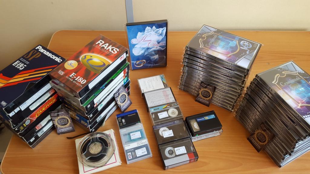 Оцифровка видеокассет и кинопленок в Челябинске